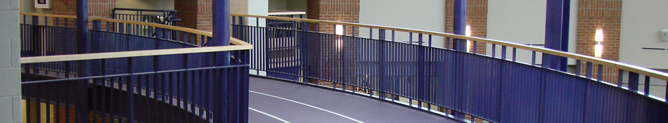 Stairs and Handrails for Commercial and Industrial applications, Warehouses, Hotels, Parking decks and more.